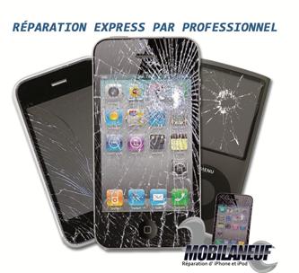 Réparation iPhone, iPad, à Paris et Boulogne