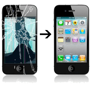 Réparation écran iPhone 4S à Paris et Boulogne