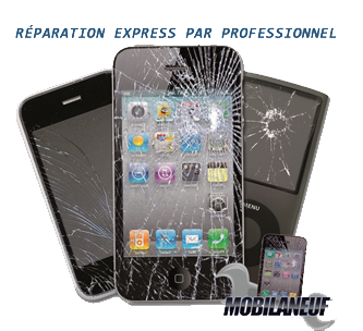 Réparation iPhone, iPad, Samsung Galaxy S Paris et Boulogne
